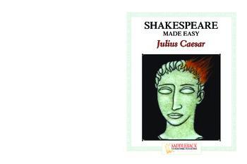 Julius Caesar Reading Guide (Shakespeare Made Easy)