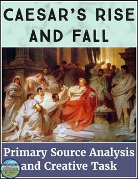 Julius Caesar Primary Source Analysis
