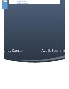 Julius Caesar STAAR Assessment/Quiz