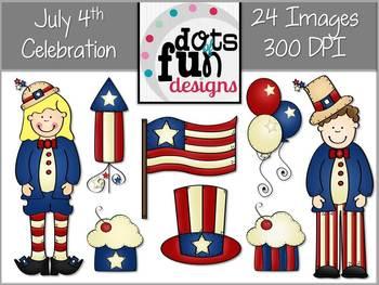 July 4th Celebration Graphics