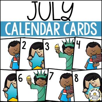July Calendar EXPANSION PACK