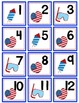 July Calendar Numbers with Patterns