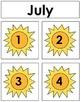 July Calendar Tags