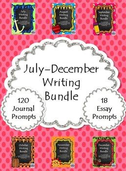 July-December Writing Bundle