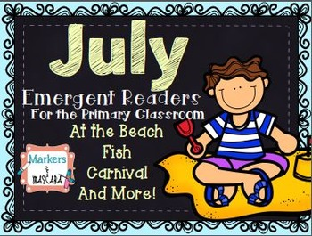 July Emergent Readers