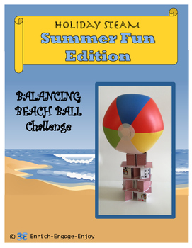July STEM STEAM Challenge: Summer Fun Edition