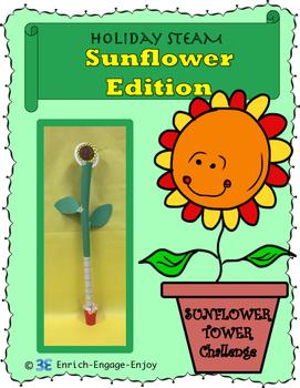 July STEM STEAM Challenge: Sunflower Edition