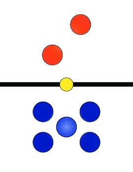 Jumbo Colored Dominoes/ XL Dominoes