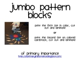 Jumbo Pattern Blocks
