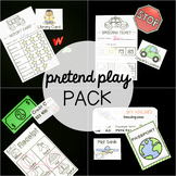 Jumbo Pretend Play Pack: 10 Must Have Sets