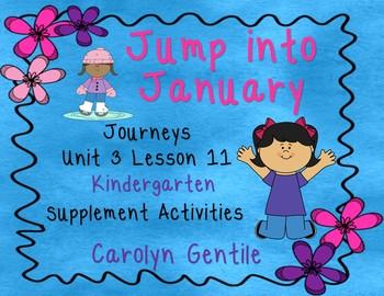 Jump Into January Journeys Unit 3 Lesson 11 kindergarten S