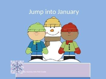 Jump Into January (Unit 3) Journeys Kindergarten Common Co
