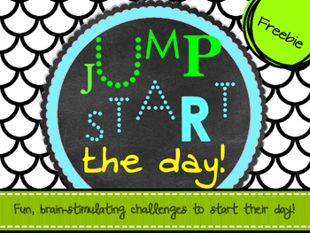 Jump Start The Day Freebie