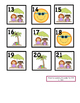 June ABAC Cute Patterned Calendar Cards: Fit Small and Reg