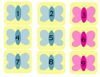 June Calendar Number Set