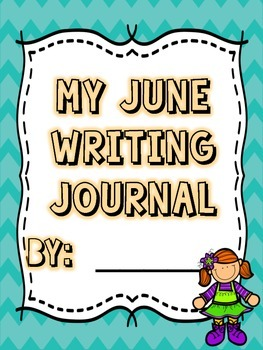 June Creative Writing Prompts and Student Booklet