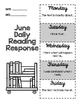 June Daily Reading Response