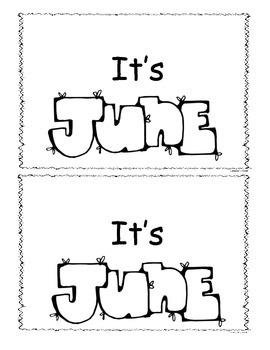 June Little Reader/Emergent Reader