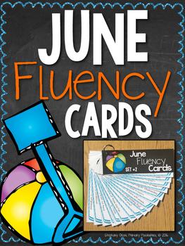 June Progressive Fluency Cards