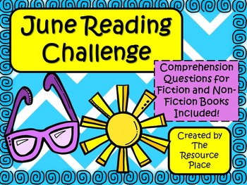 NO PREP June Reading Challenge!