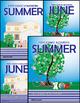 June - Summer Homework or Class Activities - Kindergarten
