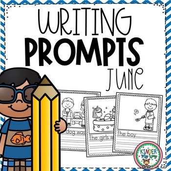 June Writing Prompts {PRESCHOOL}