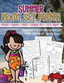 Summer Printable Pack