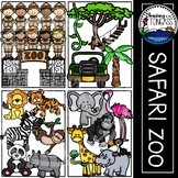 Jungle Clipart Bundle
