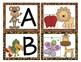 Jungle Animal Print Alphabet Match-Up