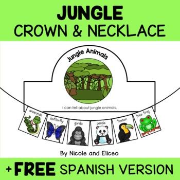 Jungle Animal Craft Actvities