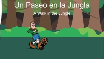 Jungle Animals in Spanish
