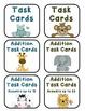 Jungle Babies Addition Task Cards