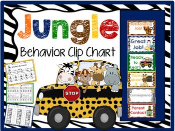 Jungle Behavior Clip Chart 2