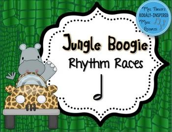 Jungle Boogie Rhythm Races: Half Note