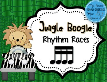 Jungle Boogie Rhythm Races: Sixteenth Notes