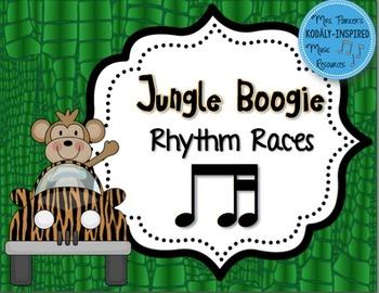 Jungle Boogie Rhythm Races: Ti-Tika