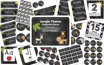 Jungle Classroom Theme