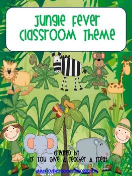 Classroom Theme- Jungle Fever Bundle