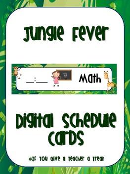 Schedule Cards- Jungle Fever Digital