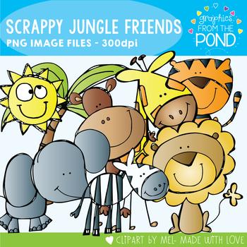 Jungle Friends Clipart