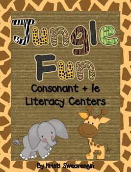 Jungle Fun! Consonant + le Literacy Centers