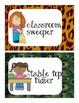 Jungle Jobs Safari Themed for the Classroom, Bulletin Boar