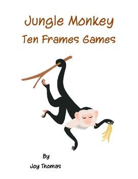 Jungle Monkey Ten Frames Games