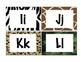 Jungle Safari Word Wall Letters
