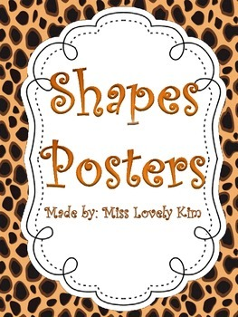 Jungle Shapes Posters