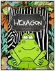 Jungle/Safari/Zoo Theme 2-D Shape Posters