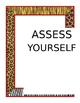 Jungle Theme Assess Yourself