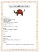 Jungle Theme Classroom Parent Handbook