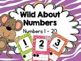 Jungle Theme Number Line
