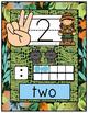 Jungle/Safari/Zoo Theme Number Posters
